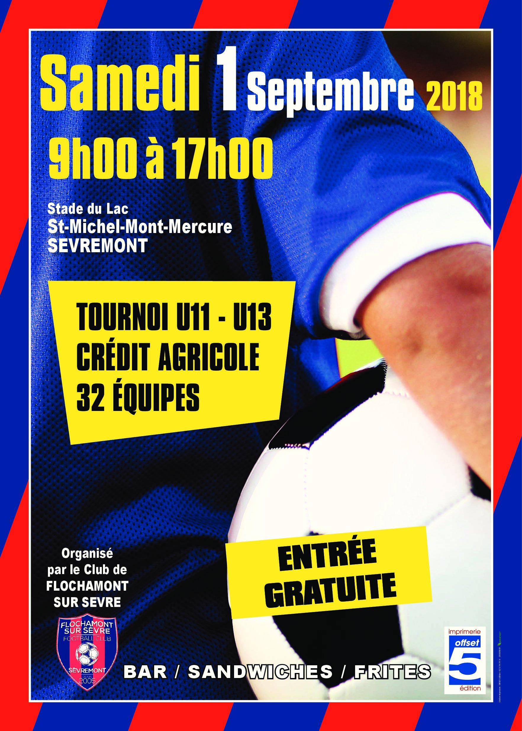 c4d1610f8e4 Tournoi U11-U13 Crédit Agricole   informations pratiques ...